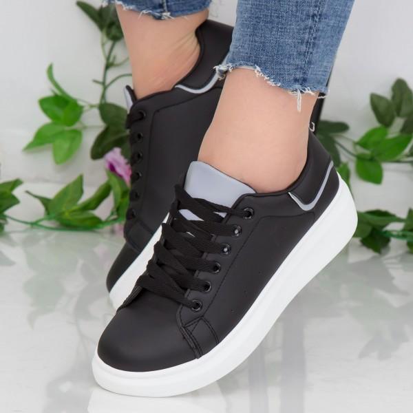 Pantofi Sport Dama YKQ190 Black Mei