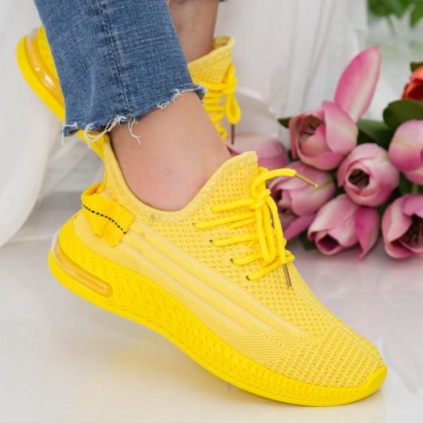 Pantofi Sport Dama LGGH5 Yellow Mei