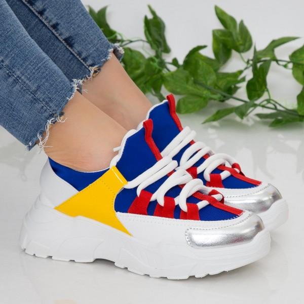 Pantofi Sport Dama cu Platforma NX100 Blue Mei
