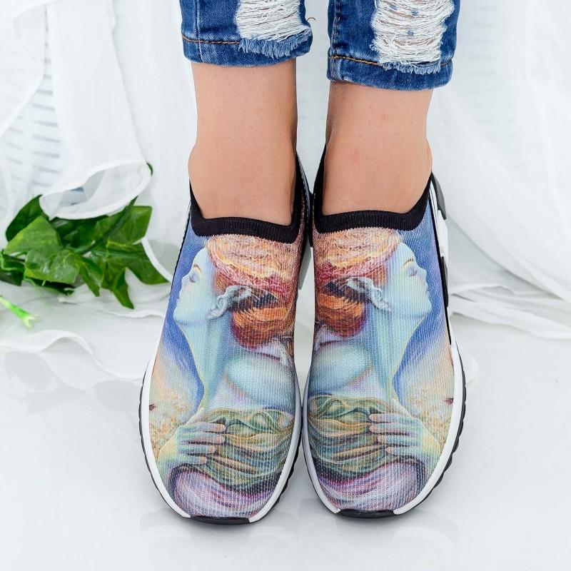 Pantofi Sport Dama TF5 Blue Mei