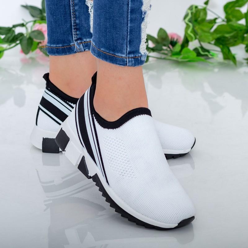 Pantofi Sport Dama TF6 White Mei