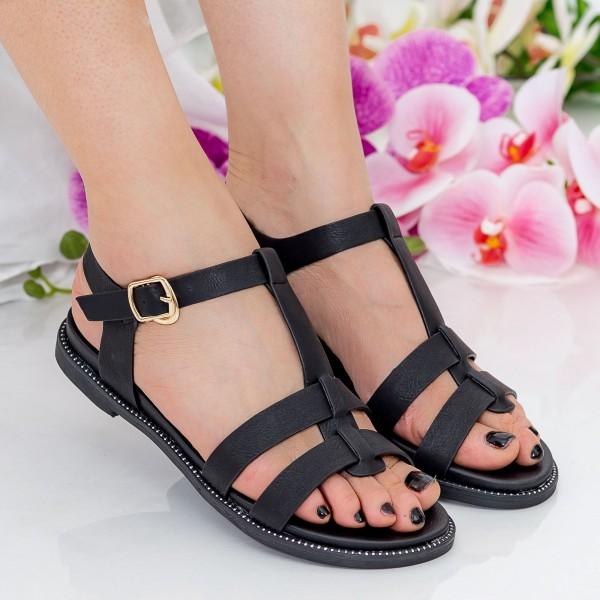 Sandale Dama ZX3 Black Mei