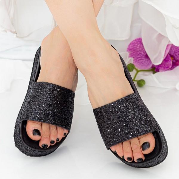 Papuci Dama WS119 Black Mei