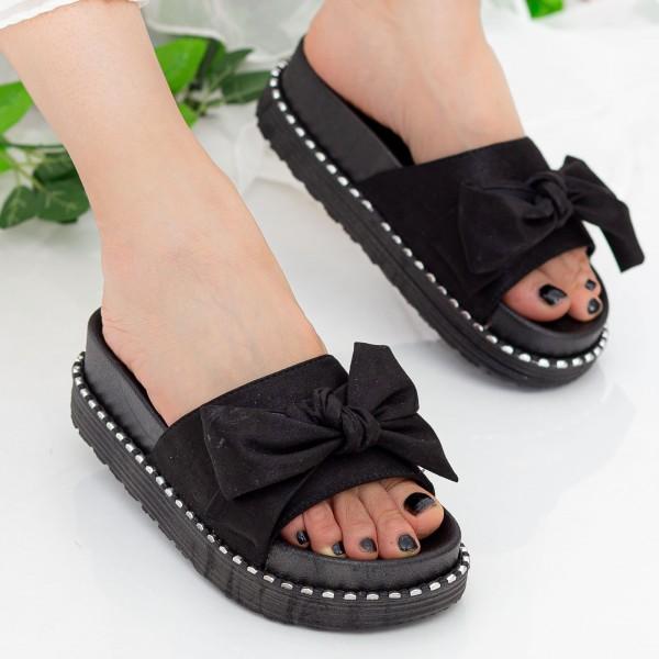Papuci Dama WS131 Black Mei