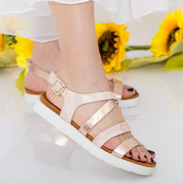 Sandale Dama WT21 Champagne Mei