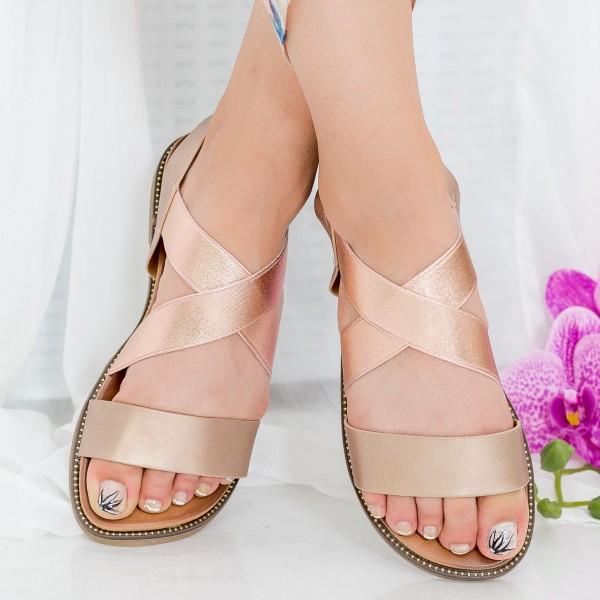 Sandale Dama ZX5 Champagne Mei