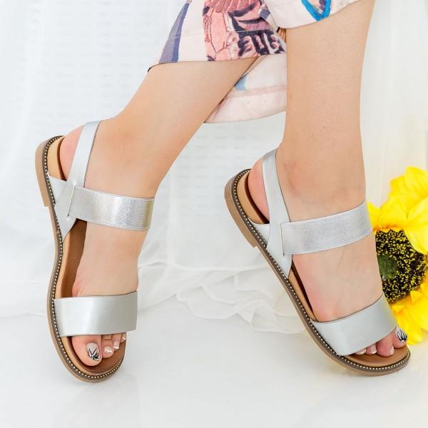 Sandale Dama ZX6 Silver Mei