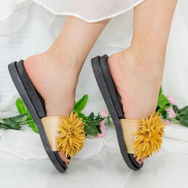 Papuci Dama YH6685 Yellow Sport Fashion