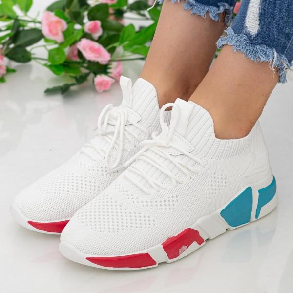 Pantofi Sport Dama HMM9 White Mei
