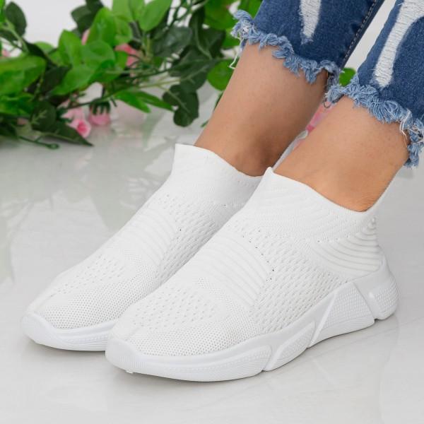 Pantofi Sport Dama KSQ2 White Mei