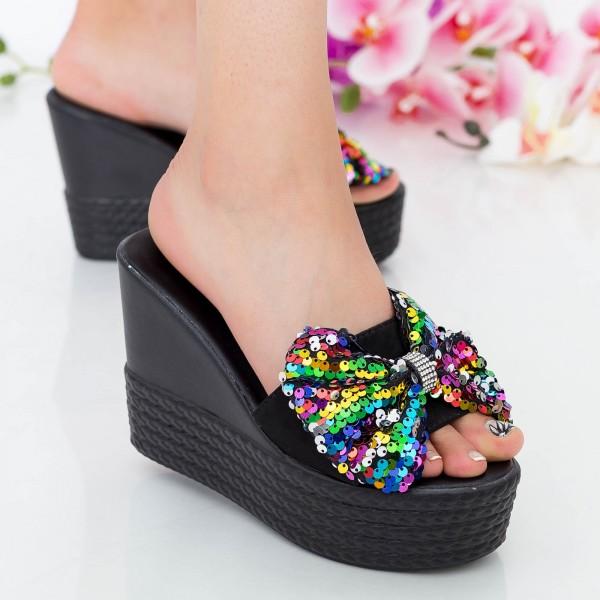 Papuci Dama cu Platforma LM278 Color Mei