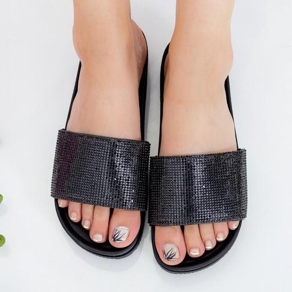 Papuci Dama WS118 Black Mei