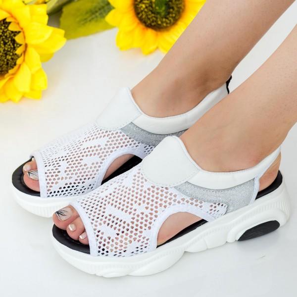 Sandale Dama WLJR2 White Mei
