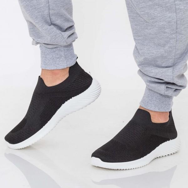 Pantofi Sport Barbati D802 Black Se7en
