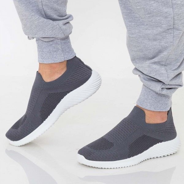 Pantofi Sport Barbati D802 Grey Se7en