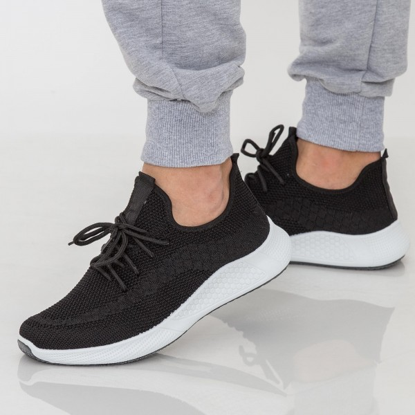Pantofi Sport Barbati 23-5 PSB Black Se7en
