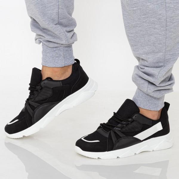 Pantofi Sport Barbati D768 Black Se7en