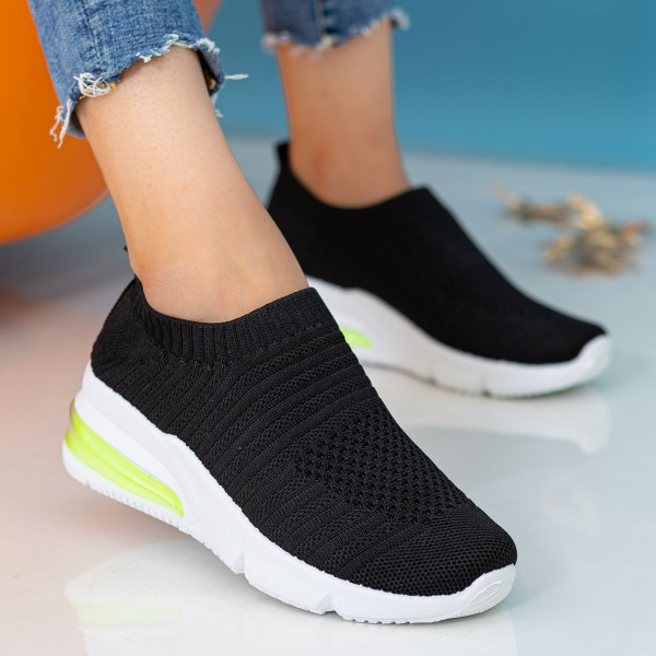 Pantofi Sport Dama X2911 Black Se7en