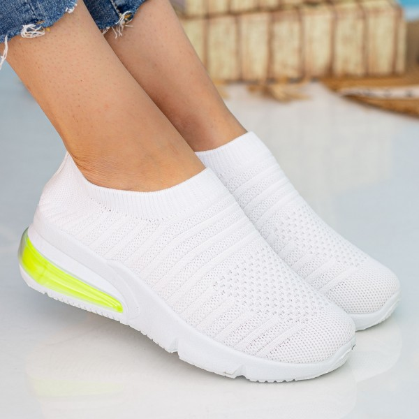 Pantofi Sport Dama X2911 White Se7en