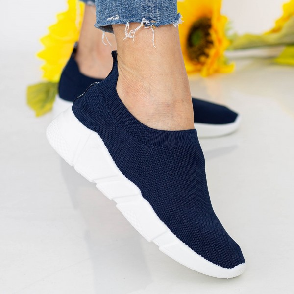 Pantofi Sport Dama J-6 PSD Dark Blue Se7en