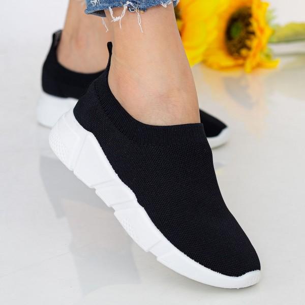 Pantofi Sport Dama J-6 PSD Black Se7en