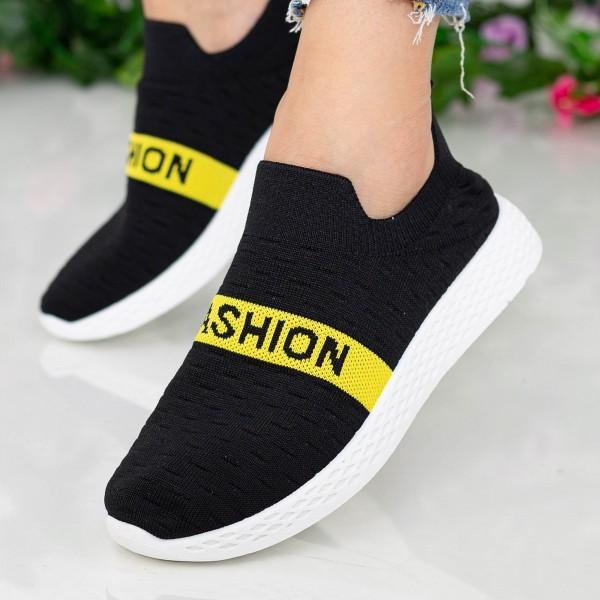 Pantofi Sport Dama X2858 Black Se7en