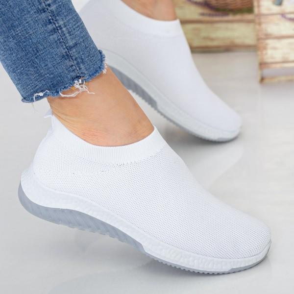 Pantofi Sport Dama 23-9 PSD White Se7en