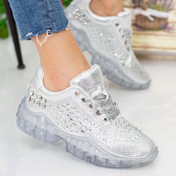 Pantofi Sport Dama X615 Silver Se7en