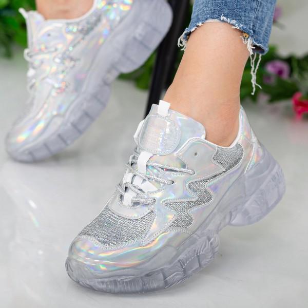 Pantofi Sport Dama X612 Silver Se7en