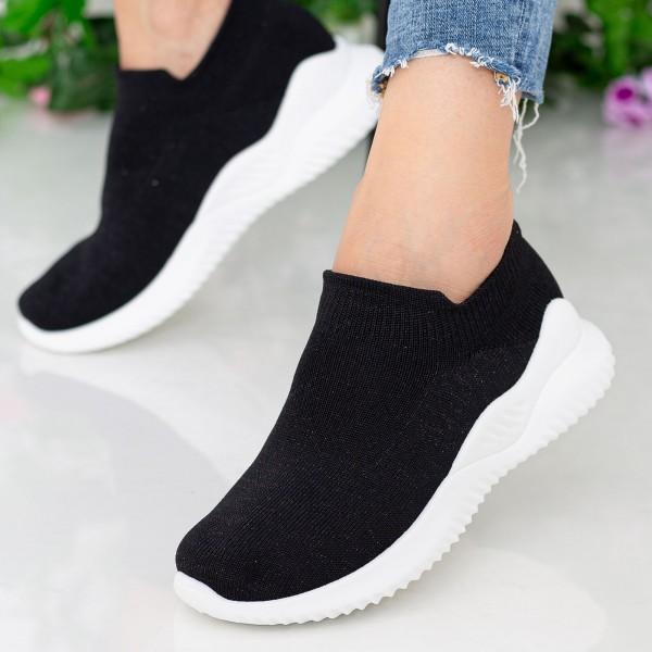 Pantofi Sport Dama D736 Black Se7en