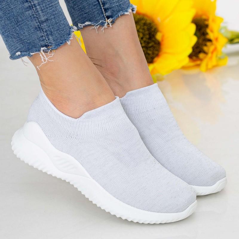 Pantofi Sport Dama D736 White Se7en