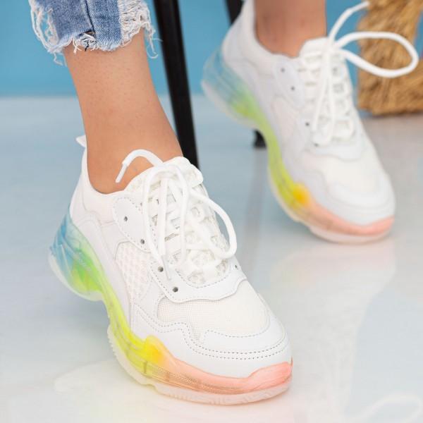 Pantofi Sport Dama YKQ193A White Mei