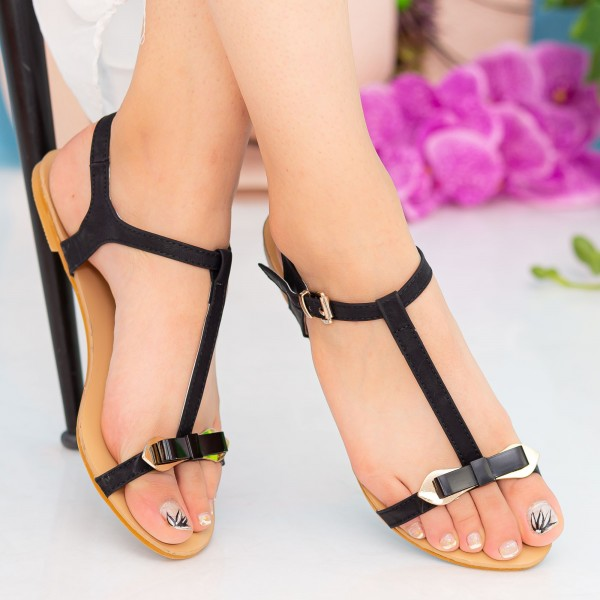 Sandale Dama HG56 Black Mei
