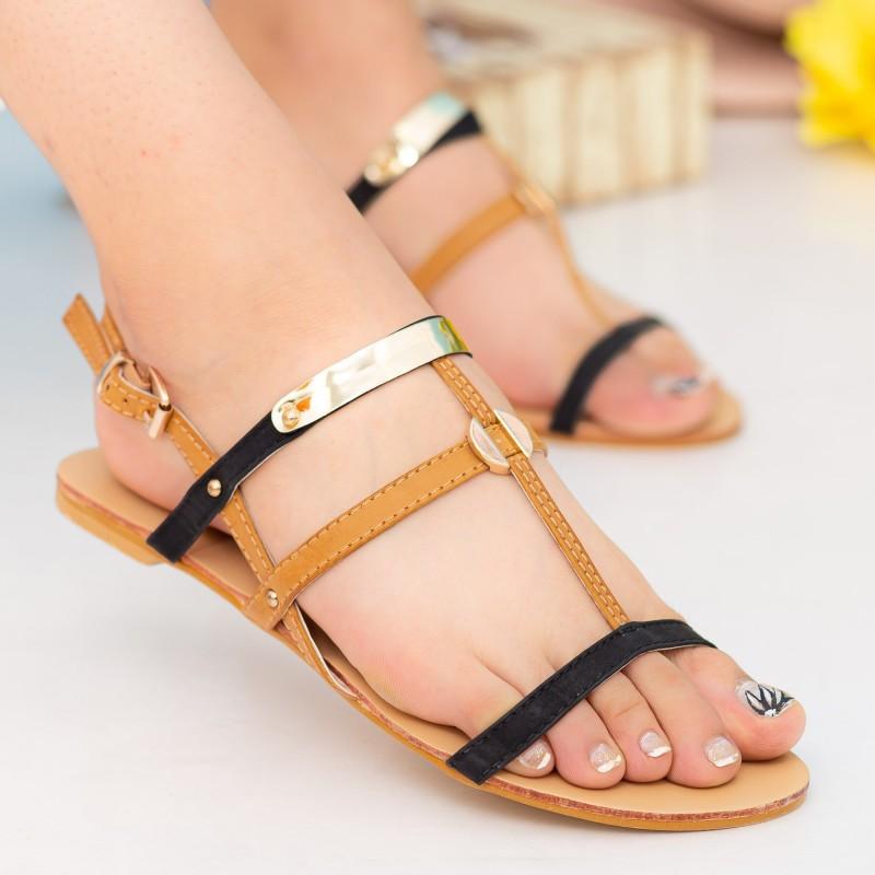Sandale Dama HG133 Black Mei