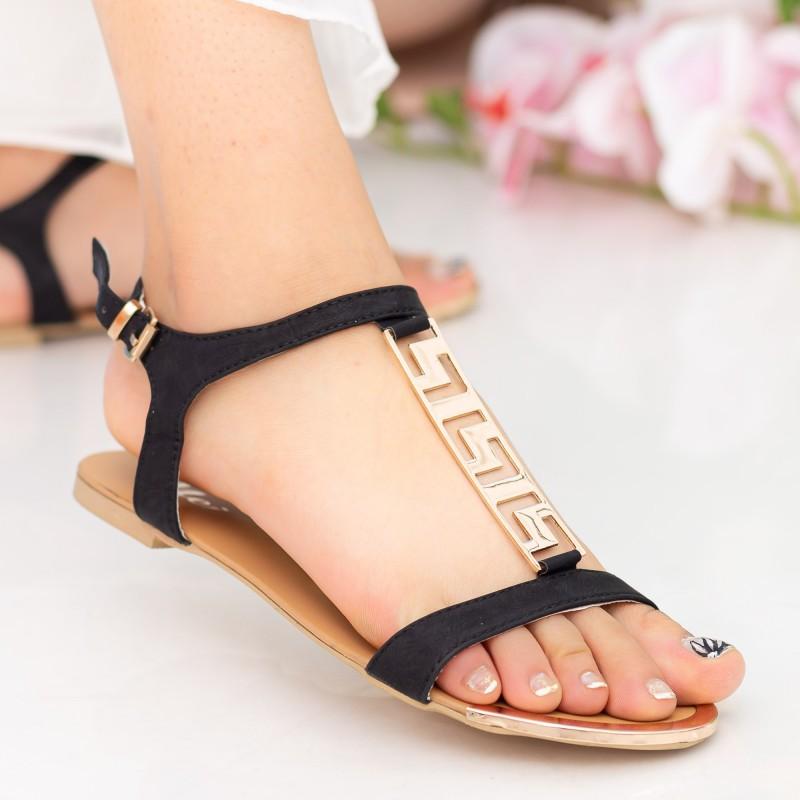 Sandale Dama LM50 Black Mei