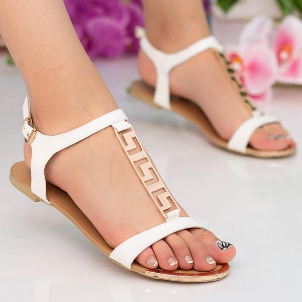 Sandale Dama LM50 White Mei