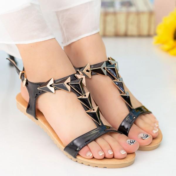 Sandale Dama LM220 Black Mei