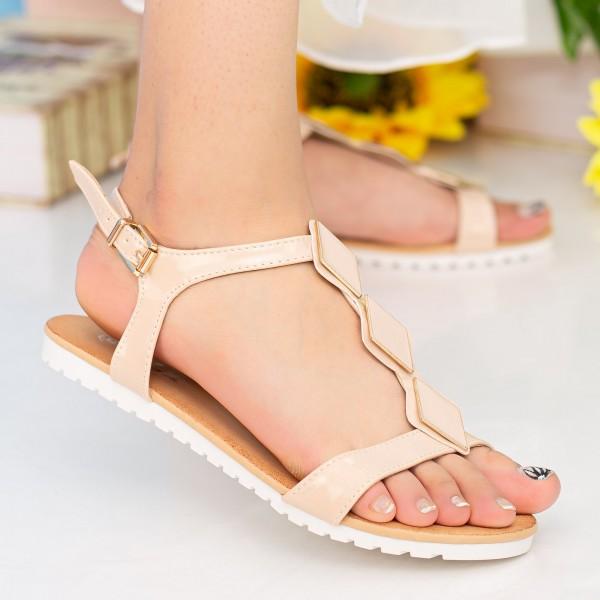 Sandale Dama LM223 Beige Mei