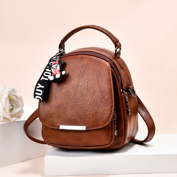 Rucsac Dama 005-8 Brown Fashion