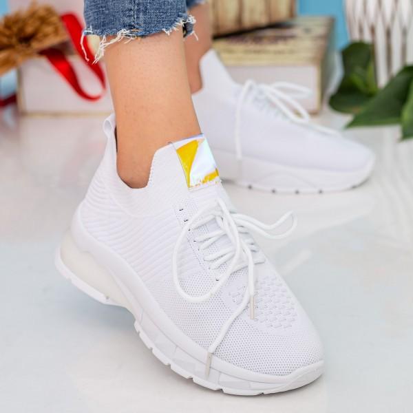 Pantofi Sport Dama 23-15 White Se7en