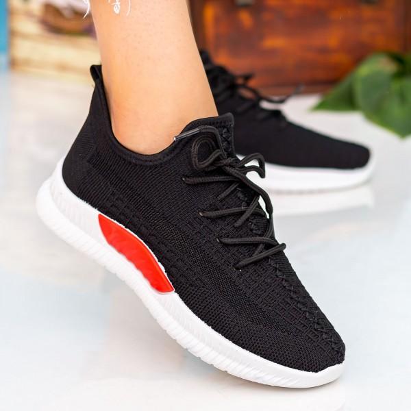 Pantofi Sport Dama X2916 Black Se7en