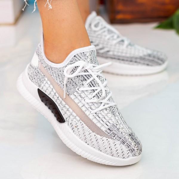 Pantofi Sport Dama X2916 White Se7en