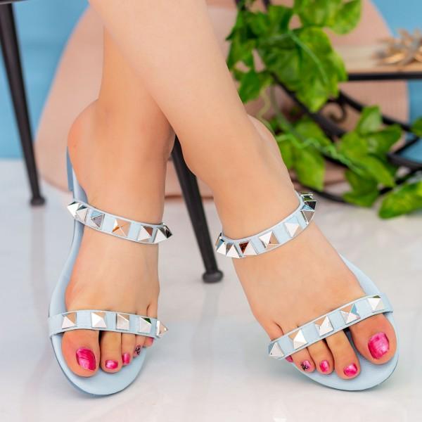 Papuci Dama DD87 Blue Seastar Blue