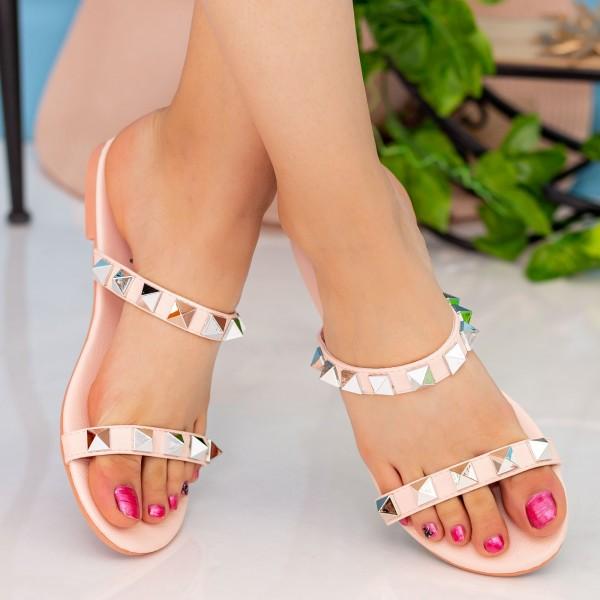 Papuci Dama DD87 Pink Seastar Blue