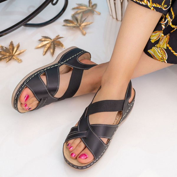 Sandale Dama F80 Black Alogo