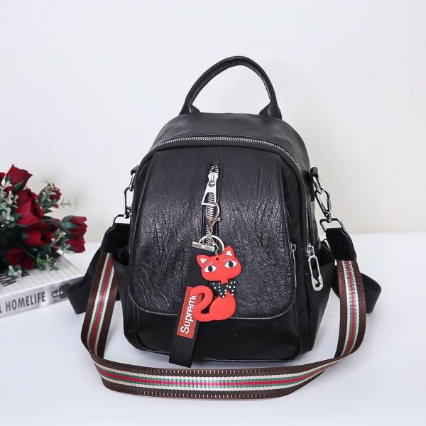 Rucsac Dama 915-5C Black (F07) Fashion 915-5C BLACK Fashion