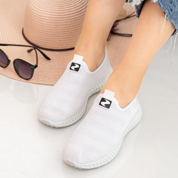 Pantofi Sport Dama X2919 White Se7en