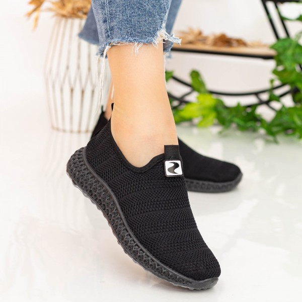 Pantofi Sport Dama X2919 Black Se7en