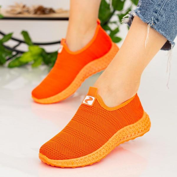 Pantofi Sport Dama X2919 Orange Se7en
