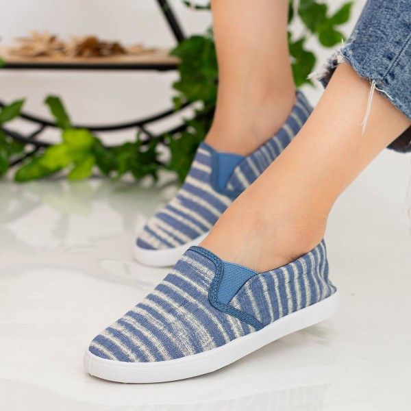 Espadrile Dama H708 Light Blue Fashion